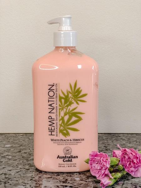 Hemp nation body lotion White peach & Hibiscus