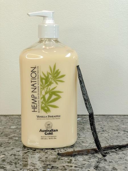 Hemp nation body lotion Vanillla Pinaple
