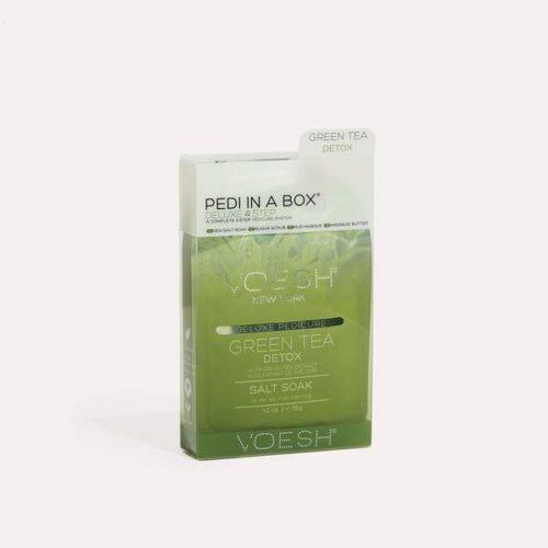 GREEN TEA DETOX PEDI IN A BOX 4 STEP