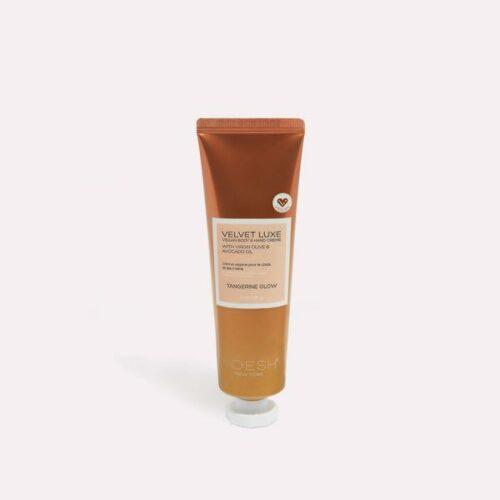 VOESH Tangerine Glow Velvet Luxe Vegan body & hand crème