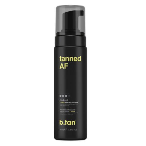b.tan – tanned AF tanning mousse