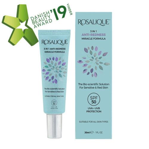 Rosalique 3 i 1 rødme creame
